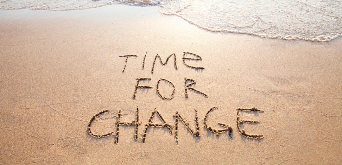 Heb jij ook het gevoel dat het tijd is voor een nieuw begin ?